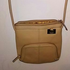 Tignanello Cross Body Tan Bag